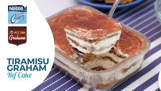 Heres how to make Tiramisu Graham Cake