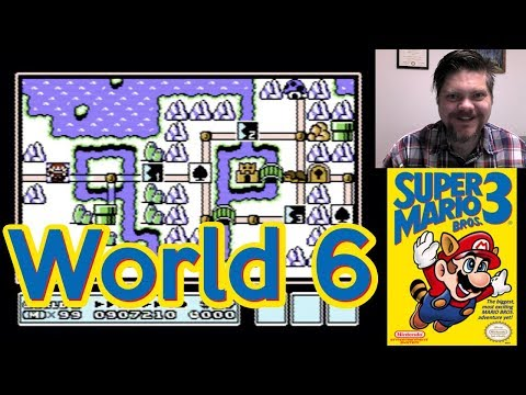 Super Mario Bros. 3, World 6 | VGHI Play 'n' Chat Live Stream