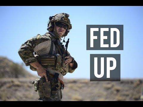 FED UP!   Military Motivation