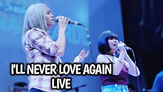 I'LL NEVER LOVE AGAIN (Katrina And Eumee LIVE at The Musichall)