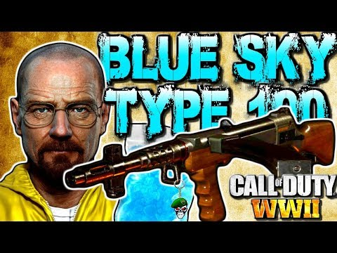 Call Of Duty: WW2 Best Class Setup - Type 100 BLUE SKY Multiplayer Gameplay! COD WW2 Tips And Tricks