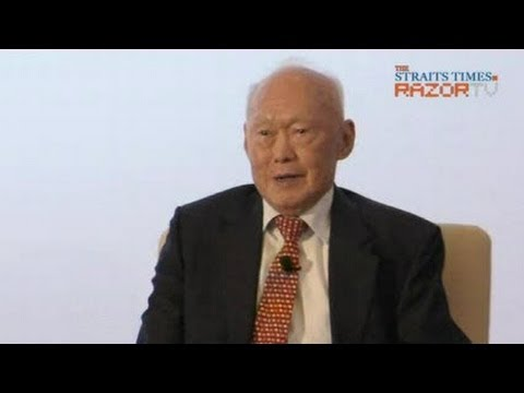 MM Lee dialogue on China & Singapore relations (Pt 3)