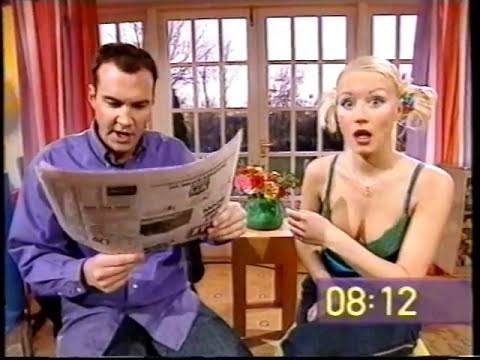 The Big Breakfast  Paper  24th Nov 2000  Johnny and Denise