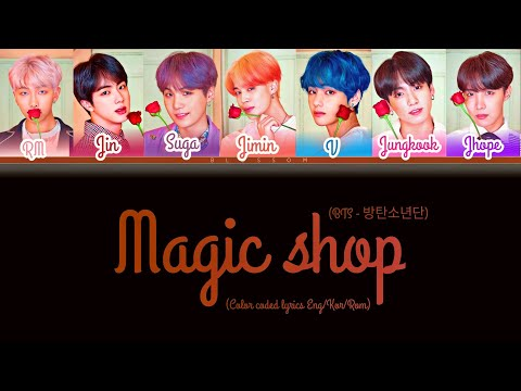 Download BTS (방탄소년단) - Magic Shop [Color coded lyrics Eng/Kor/Rom]