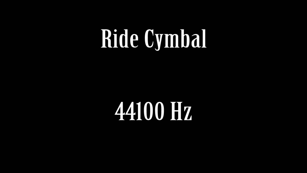 ride cymbal sound effect free high quality sound fx youtube. Black Bedroom Furniture Sets. Home Design Ideas