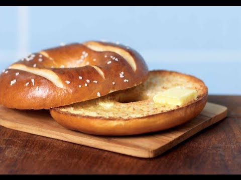 tim horton new pretzel bagel taste test february 23rd. Black Bedroom Furniture Sets. Home Design Ideas