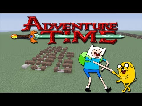 """Minecraft Xbox 360 - Adventure Time Note Block song's ( """"You Decide"""" )"""