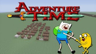 "Minecraft Xbox 360 - Adventure Time Note Block song's ( ""You Decide"" )"