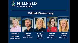 Swimming at Millfield Prep School
