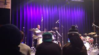 "Aaron Spears  ""CAUGHT UP"" Live @ Berklee College of Music"
