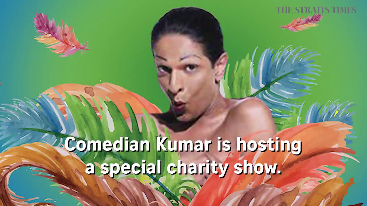 Iconic drag comedian Kumar to raise funds for charity in Zouk show
