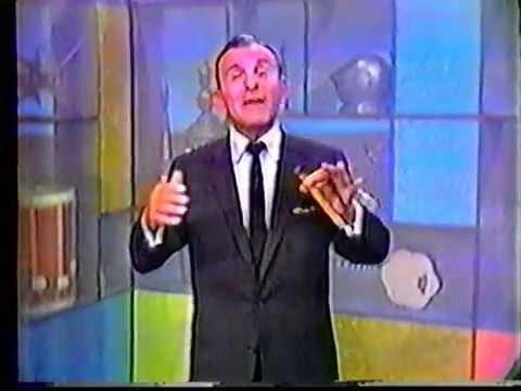 George Burns finally sings! 6/7/60