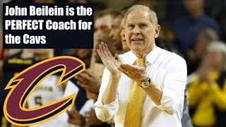 John Beilein is the Perfect Coach for the Cleveland Cavaliers