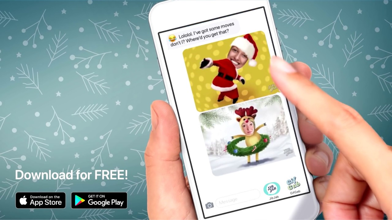 JibJab App Christmas 2018 TV Commercial