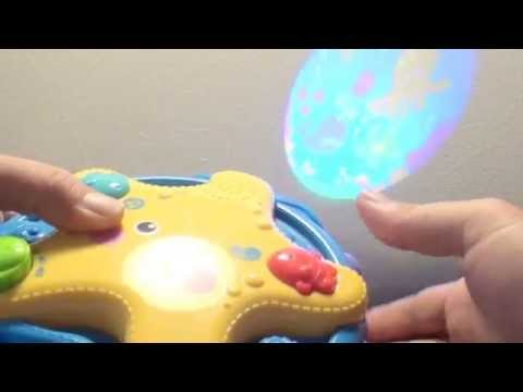 Baby Games and toys - playroom - sleep - lights on ceiling with music