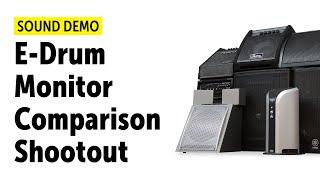 E-Drum Monitor Comparison (shootout) 2018 - Sound Demo