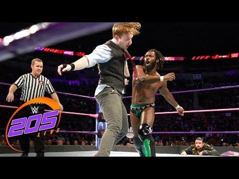 Rich Swann vs. Gentleman Jack Gallagher: WWE 205 Live, Oct. 17, 2017