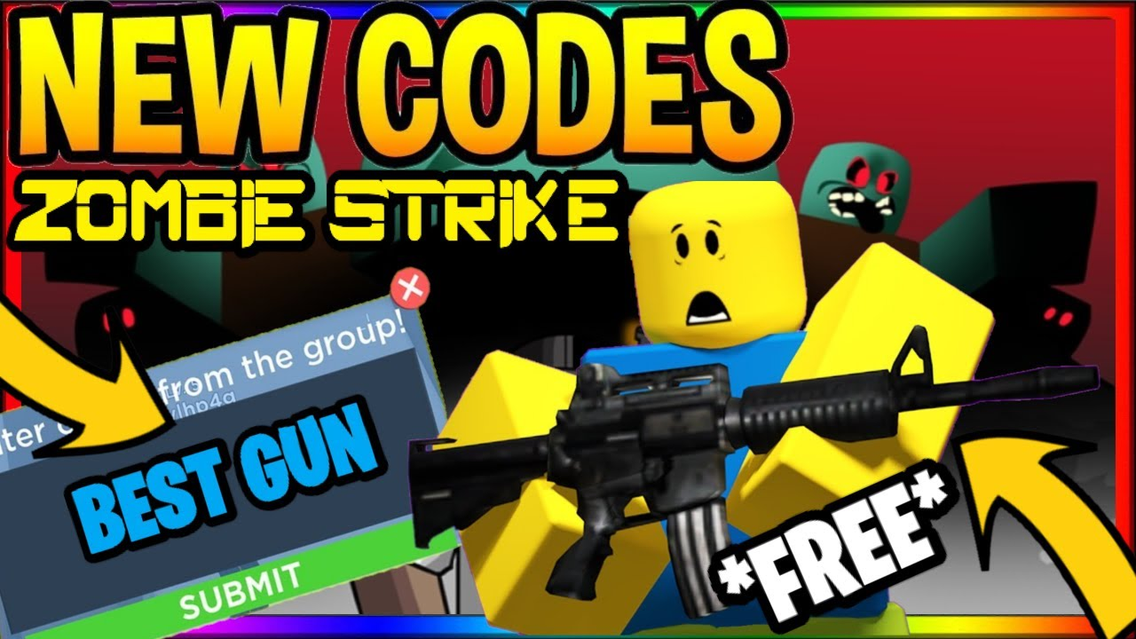 All Insane Codes In Zombie Strike New Update Roblox Youtube Zombie Strike All New Working Codes June 2020 Roblox Zombie Strike Codes Roblox Youtube