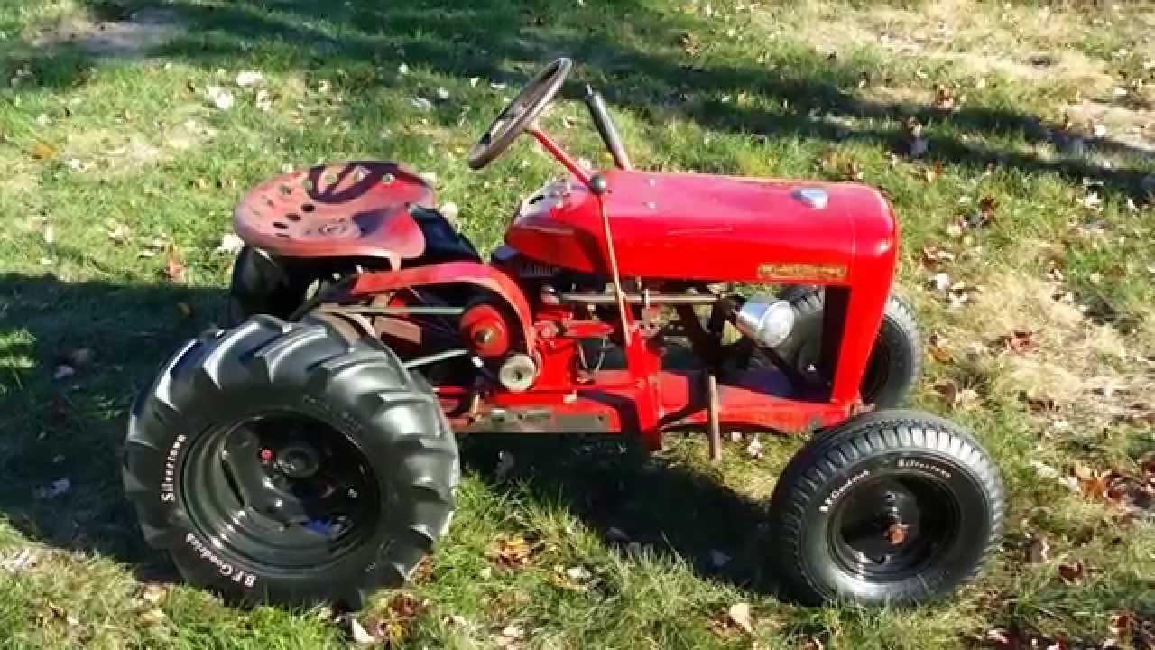Wheel Horse Tractors : Winterizing the garden tractors panzer wheel horse rj