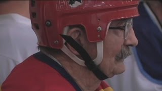 94-Year-Old Proves You're Never Too Old To Play Hockey