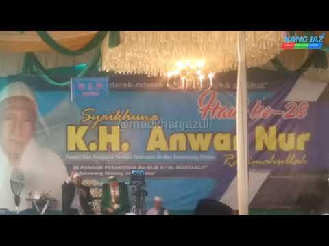 Syekh Prof Dr Fadhil Al Jailany Ijazahkan Wirid Sholawat Haul Pp An Nur Bululawang
