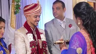 Indian wedding in Mauritius - Vivah ceremony - Shaheel and Kusum 2018