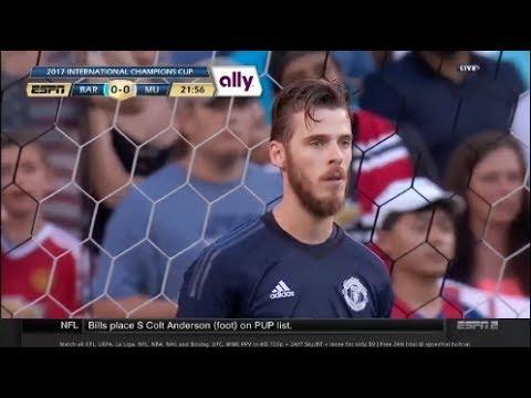 David De Gea vs Barcelona 2017 • Barcelona vs Manchester United 2017