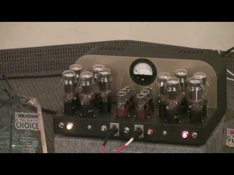 AudiogoN @ CES 2009: Classic Audio Loudspeakers + Atmasphere OTL amplifiers playing vinyl