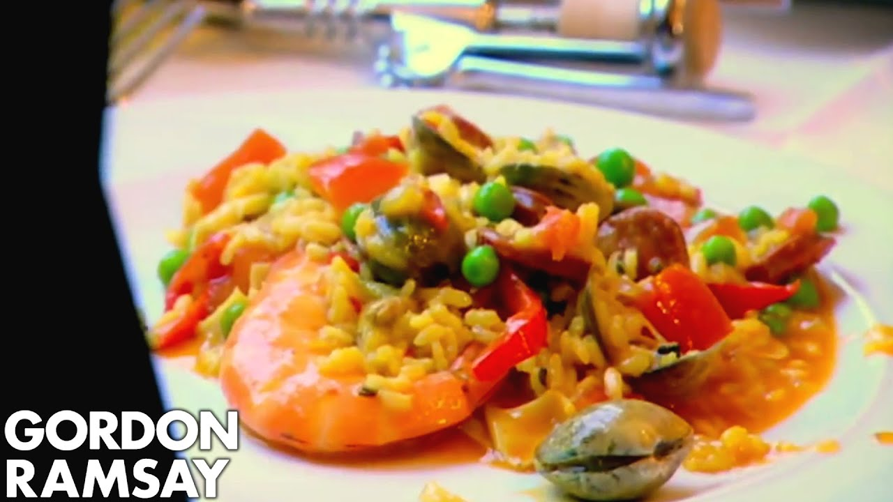 How to make paella gordon ramsay youtube forumfinder Choice Image
