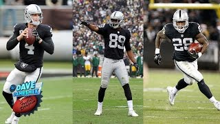 Are the Raiders Triplets Underrated? | Dave Dameshek Football Program | NFL