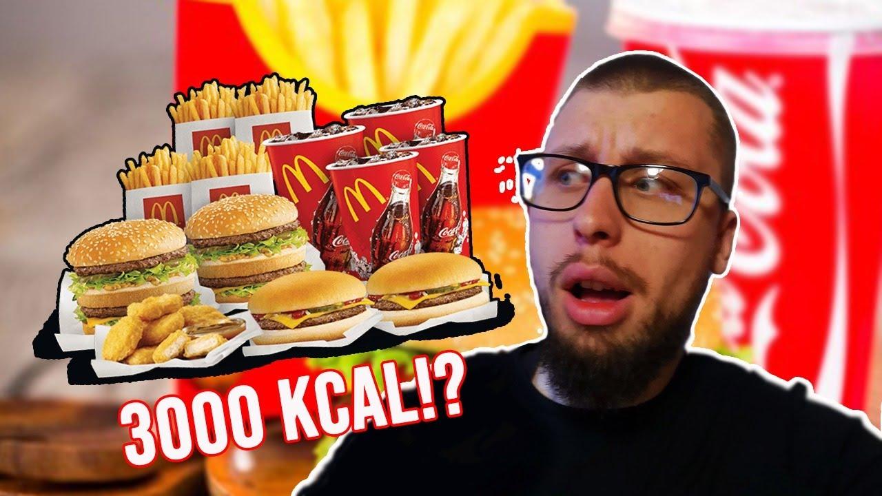 🔴JEDEM 3000 MCDONALDS KALORIJA  🧡Challange + OmeTV Šprdancija