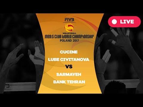 Men 39 s club world championship group a cucine lube civitanova sarmayeh bank tehran youtube - Cucine lube civitanova ...