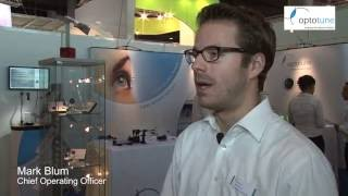 Fokus tunable lenses by Mark Blum of Optotune - Optatec Messe- Karrideo Imagefilm