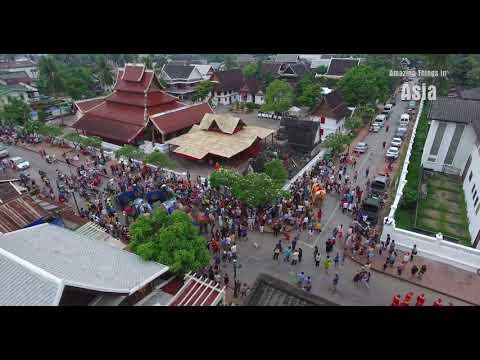 New Year Laos I Luang Prabang I 4K I Part 2