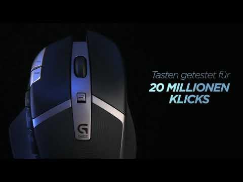 Logitech G602 Wireless Gaming Maus Amazon De Computer Zube Youtube