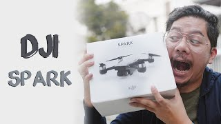 setting up the dji spark