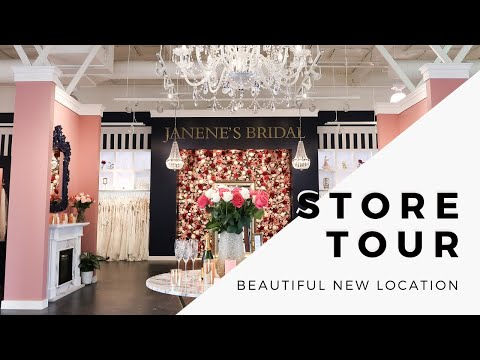 Store Tour: New Location | Janene's Bridal