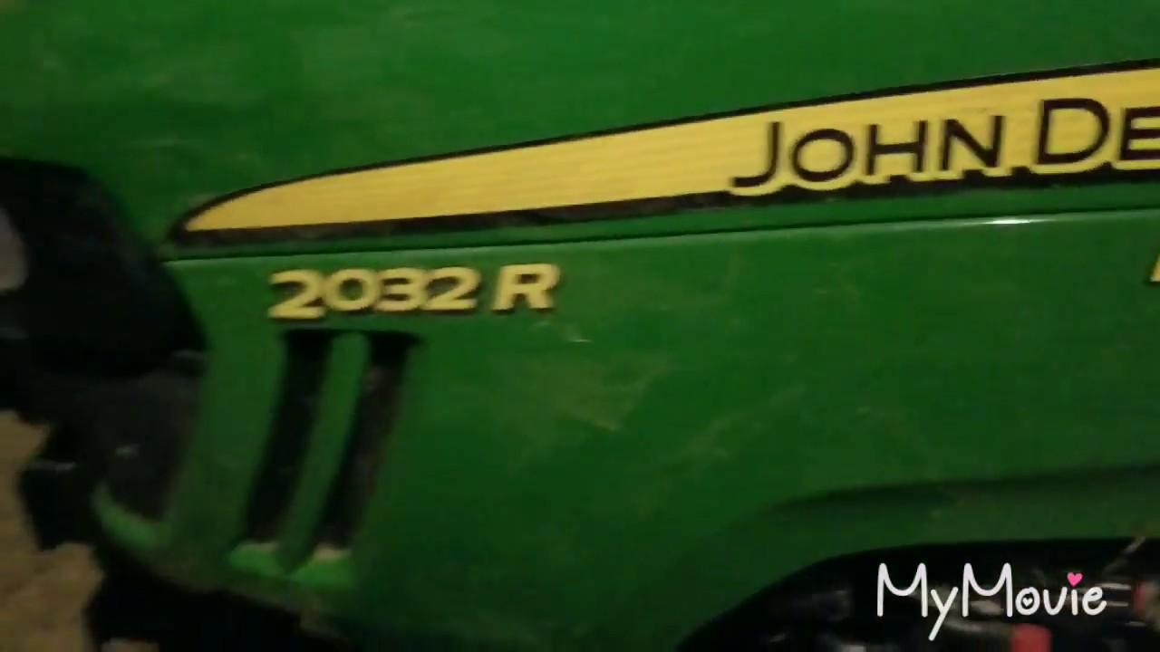 Fix on the John Deere 2032R