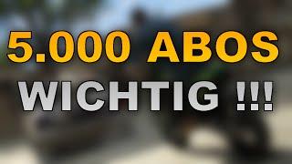 5.000 Abos Geknackt | Anschauen Wichtig !!!