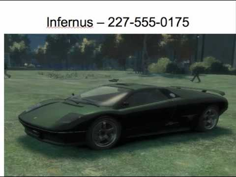 <b>GTA IV</b> - <b>Cheat Code</b> for Infernus - YouTube
