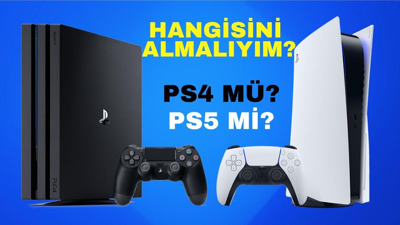 Playstation 4 mü yoksa Playstation 5 mi almalıyız? Detaylı karşılaştırma ile karar verin.