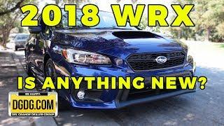 2018 Subaru WRX Limited In Depth Review | DGDG.COM