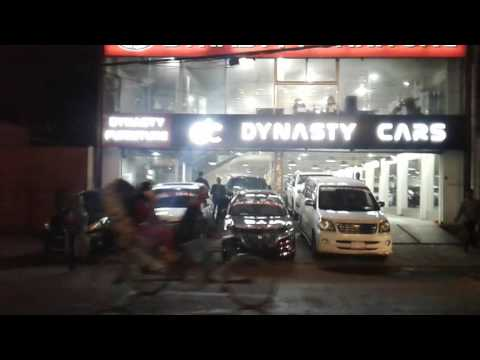 Night at Dhaka 2016 luxurious show rooms of cars and Bike