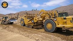 Caterpillar's Biggest Scraper Working in California