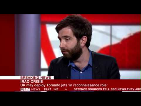 11 August: Robin Simcox on BBC News discusses Iraq crisis