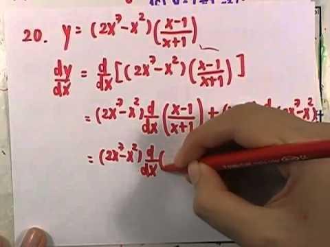 เลขกระทรวง เพิ่มเติม ม.4-6 เล่ม6 : แบบฝึกหัด2.5 ข้อ01(ตอน5)