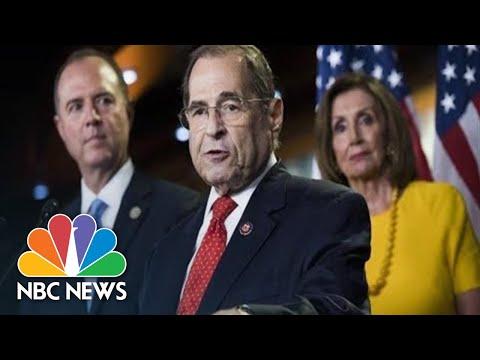 Democratic Leaders Announce Articles Of Impeachment Against Trump | NBC News (Live Stream Recording)