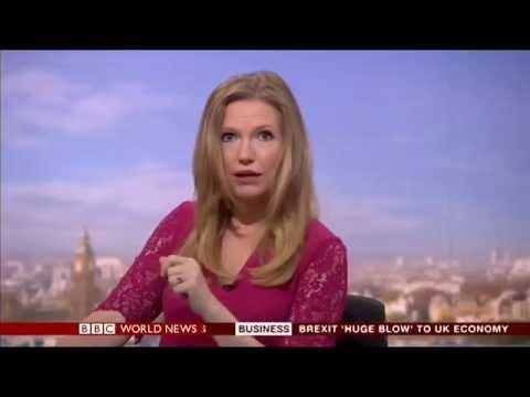 Alice Baxter - Anchor, BBC World News