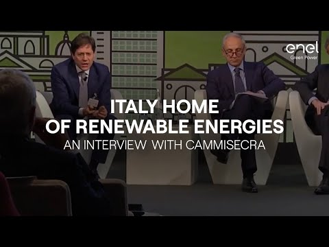 Italy, home of the renewable energies