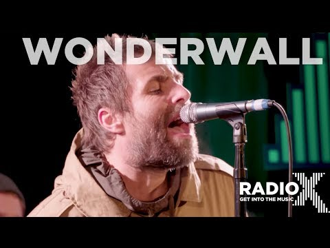 Liam Gallagher - Wonderwall LIVE (Radio X Session)